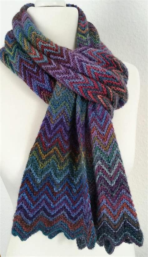 free knitting patterns scarves pinterest free knitting pattern zick zack scarf christy kamm s