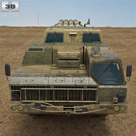 Bma Model Bm 10 bm 30 smerch 3d model humster3d