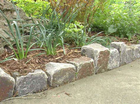 Lightstone Landscape Edging Ideas And Designs For Home Hgtv