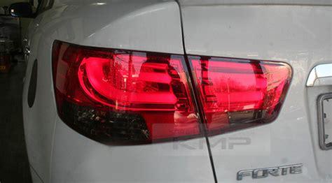 2011 kia forte sedan tail lights bmw f style rear led red tail light l set for kia 2009