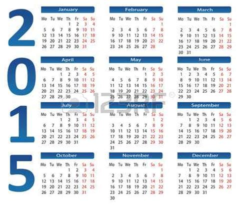 Calendario De Usa 2015 2015 Calendar Overview Of Features