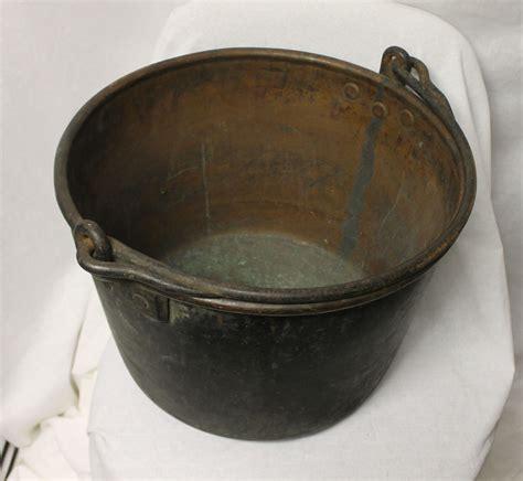 Bargain John's Antiques   Antique Apple Butter Copper