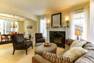 small formal living room with soft yellow walls white fireplace and ideas nicelivingroom home