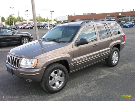 brown jeep grand cherokee 2001 woodland brown satin glow jeep grand cherokee limited