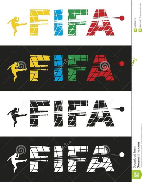 eps format from word fifa editorial stock photo image 40684873