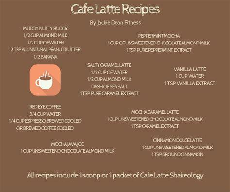 cafe latte herbalife shake recipes cafe latte