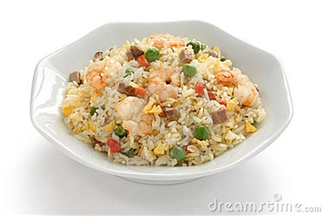 Design Kitchen Tool Fried Rice Chinese Cuisine Yangzhou Style Stock Photos