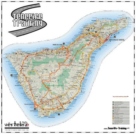 layout nfe 3 0 landkartenblog online stra 223 enkarte von teneriffa
