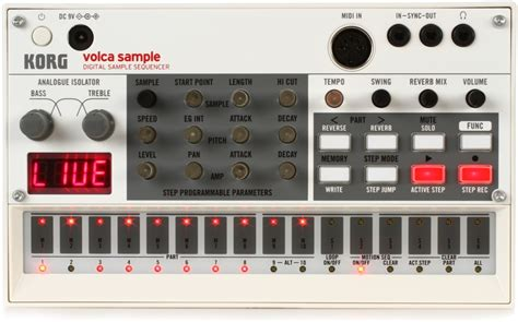 korg volca beats swing korg volca sle digital sle sequencer sweetwater com