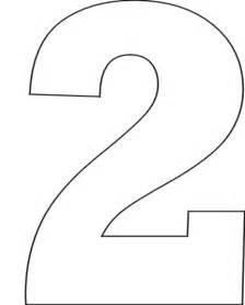 number 2 template number stencils set 1 printable letter stencils