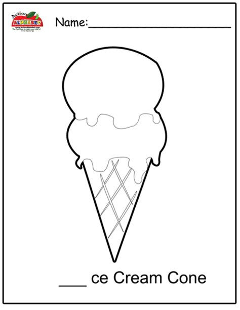 preschool ice cream coloring pages number names worksheets 187 preschool activities for letter