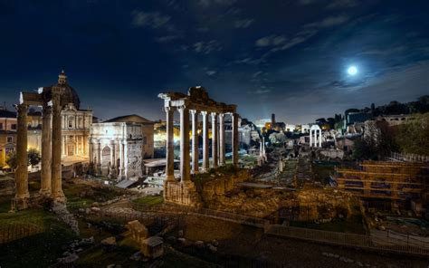 d roma forum rome italy wallpapers13