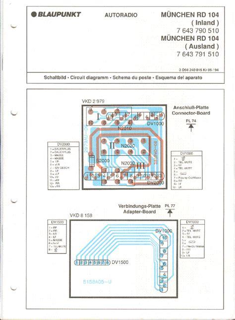 Simply Munchen 1 Cr blaupunkt line cc rcr128 168 rcm148 168 service manual