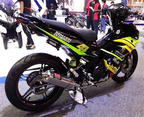 Kenalpot Racing Yamaha Jupiter Mx 135 Akrapovic Pelangi High Peforma knalpot racing motor jupiter mx images