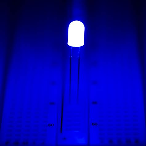 Led 5mm 5 Mm 3warna 3 Warna 5mm blue through led 462 nm t1 3 4 led w 360