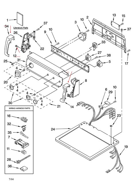 kenmore 90 series washer parts diagram kenmore 80 series dryer schematic kenmore get free image