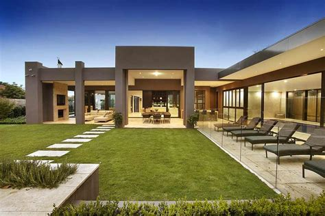Urban 57 Home Decor Design by Imposing Luxurious Modern Mansion In Melbourne Wearing