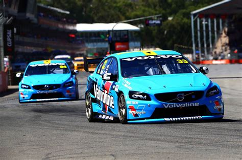 volvo polestar racing scores   supercars victory