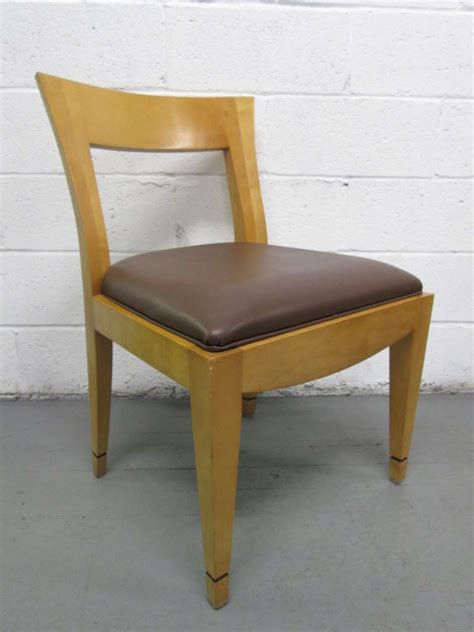 Donghia Dining Chairs Four Dining Chairs Donghia Style For Sale At 1stdibs