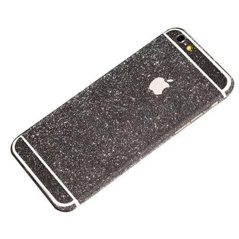 black glitter sticker skin iphone 6 iphone 6 plus iphone 5