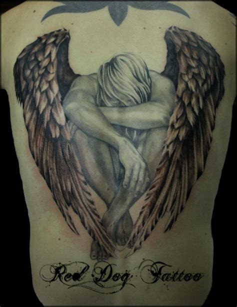 angel tattoo at the back 33 best angel tattoos ideas for women styles weekly