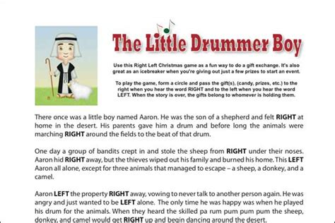 st patricks day left right pass the presents story game christmas printables