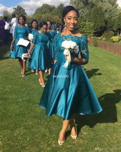 bridesmaids dresses for a wedding best 25 tea length bridesmaid dresses ideas on