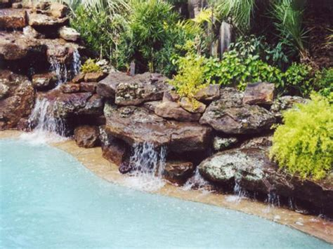 rock waterfalls for pools swimming pool waterfalls pool rock waterfalls platinum