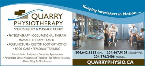 St S Maine Detox Program Review by Quarry Physiotherapy Sports Injury Rehab Clinic
