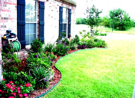 Front Garden Designs And Ideas Wonderful Green Landscaping Ideas For Front Yard Flower