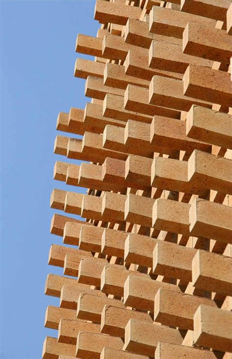c pattern brick brick pattern house alireza mashhadmirza archdaily