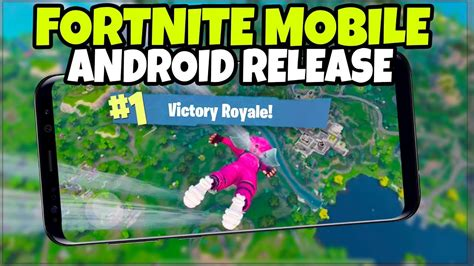 will fortnite be on android fortnite mobile on android release date phones