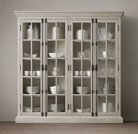 restoration hardware panel door cabinet casement 4 door cabinet restoration hardware