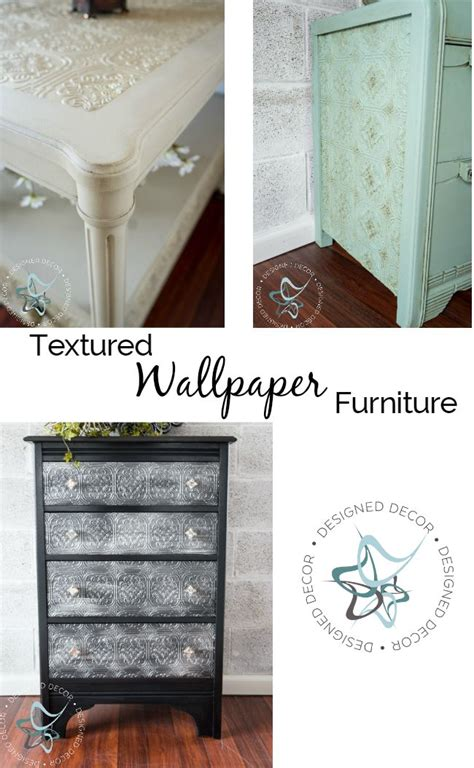 Wallpaper Furniture by Best 20 Repainting Furniture Ideas On