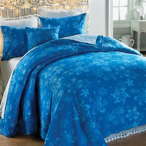 snowflake comforter lightweight polar fleece snowflake bedding g s room