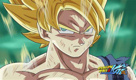 imagenes goku ssj1 dbkai goku ssj1 by animaarts on deviantart