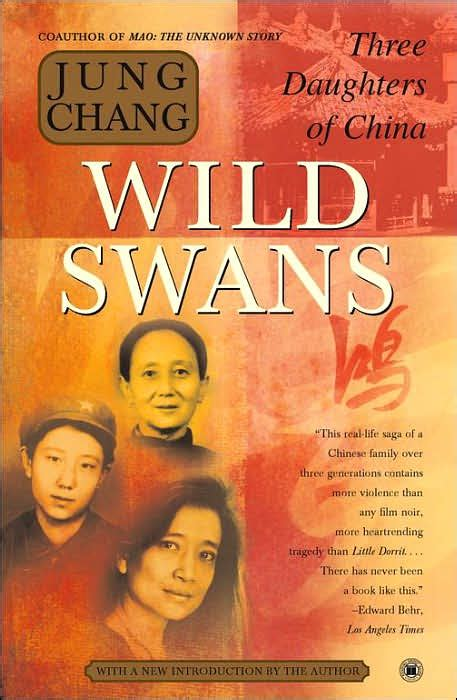 three daughters of books swans three daughters of china by jung chang in