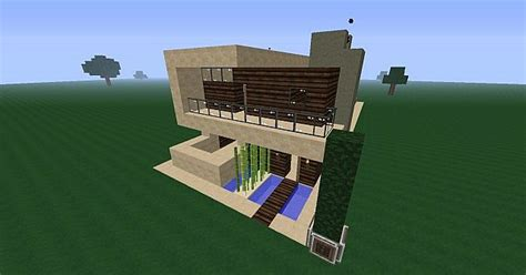 modern styled survival house   minecraft project