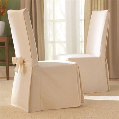 Slipcover Dining Room Chairs by Best 25 Chair Slipcovers Ideas On Pinterest Parsons