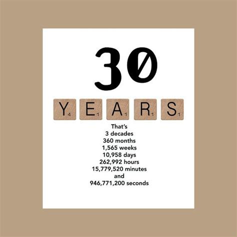 30th birthday card template 17 best 30th birthday quotes on 30th birthday