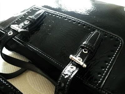 Coach Gallery Patent Handbag by Nwt Coach Crinkled Calf Patent Blk Leather Gallery Lunch
