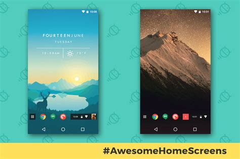 best home screen android awesome android home screens the chrome phone computerworld
