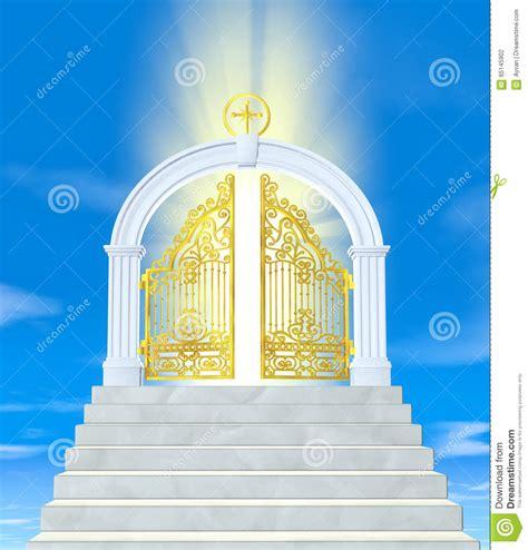 porte paradiso les portes du paradis photo stock image du mythe