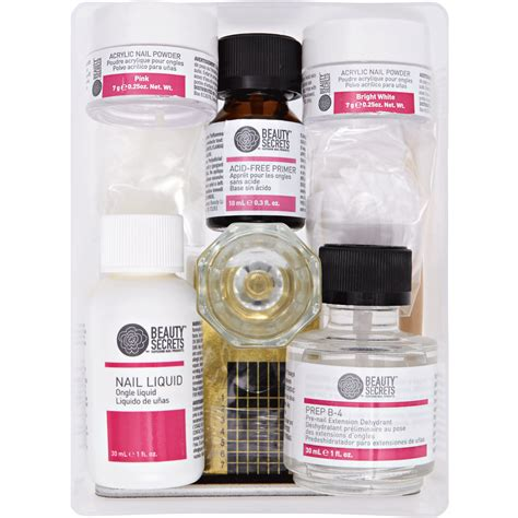secrets odorless acrylic nail system