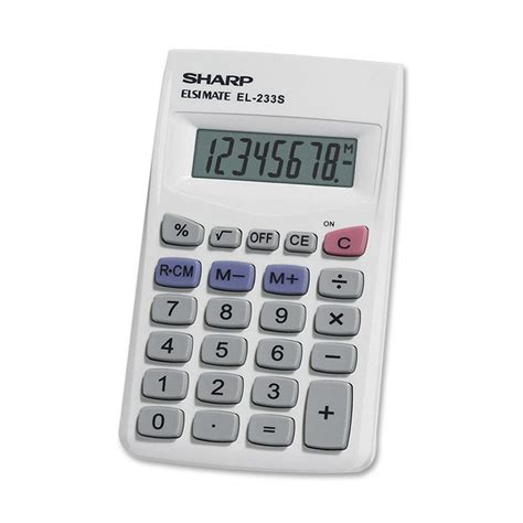 calculator cosmetic sharp el233sb sharp el233sb pocket calculator shrel233sb