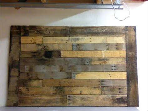 Framed Art For Dining Room by Diy Pallet Wood Wall Art Frame Decor Shabby Chic Youtube