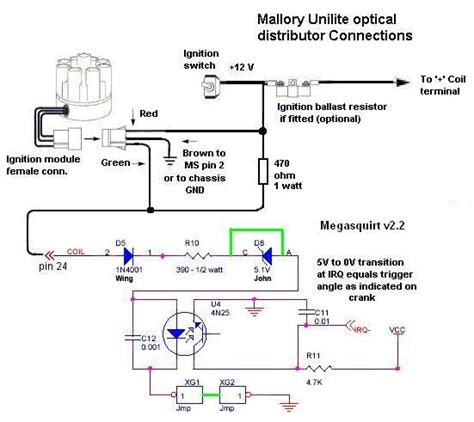 mallory unilite ignition wiring diagram motorcycle