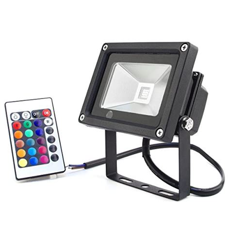 best christmas outdoor flood lights zitrades flood light led outdoor spotlight dc 12v 10w rgb color changing led lights