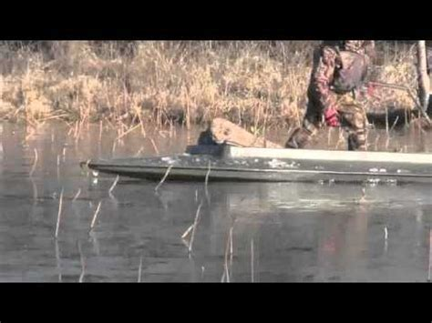 layout boat youtube four rivers layout boat busting ice youtube