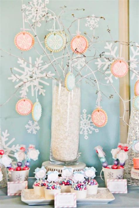 kara s party ideas winter wonderland snow 1st